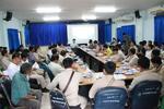 ประชุมกำนันผู้ใหญ่บ้าน ผู้นำชุมชน ประจำเดือน มีนาคม 2563