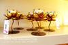 ดอกบัวเหล็ก-ปัดสีทอง-ราคา450บาท