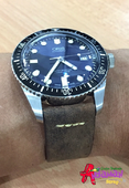 Oris divers sixty-five with Strap Crazy Horse Colo