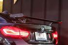 สปอยเลอร์ยกสูง Carbon Fiber BMW ทรง M Performance แบบมีโลโก้