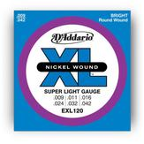 ��¡յ���俿�� D'Addario EXL120 Nickle wound, super light ���� 09