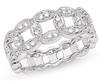 แหวนเพชรแฟนซี เพชร 1.30 ct. / ทองขาว