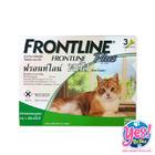 ยากำจัดเห็บ หมัดแมว Frontline plus สำหรับแมว และลูกแมวอายุ 8 สัปดาห์ขึ้นไป