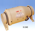 Bullet Shape Tubing Blower - พัดลมดูดอากาศ แบบ ลูกกระสุน ติดตั้งเข้ากับ ท่อ ขนาดมาตรฐาน ได้