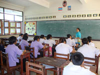 รายงานการใช้แบบฝึกเสริมทักษะคณิตศาสตร์ เรื่อง  การแยกตัวประกอบของพหุนามดีกรีสอง รายวิชาคณิตศาสตร์เพิ่มเติม  ชั้นมัธยมศึกษาปีที่  2