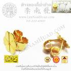 แป้นต่างหูแบน 6 มิล (น้ำหนักโดยประมาณ0.35g/ข้าง) (ทอง 90%)
