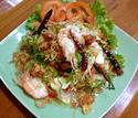 ืNO. SS02 ยำตะไคร์กุ้งสด (Spicy Lemongrass with Shrimp Salad)