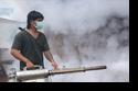 การพ่นหมอกควันเพื่อป้องกันยุงลายตำบลปางมะผ้า ประจำปี 2556
