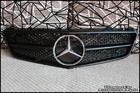 W207 E-Class Coupe Matte Black Grille V.1 [SL-Style]