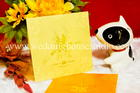 การ์ดแต่งงาน แบบจีน สีทอง รหัส W 22-2