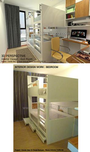 INTERIOR DESIGN : BED ROOM