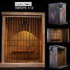 TWTOYS 1/12 TW1919 Prison scene metal railing