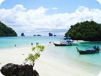 เที่ยวกระบี่ 4 เกาะ (เต็มวัน)