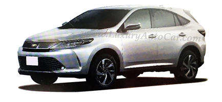 New 2017 Toyota Harrier Turbo