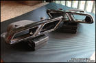 Genuine E63 S-AMG Exhaust Tips [Black]