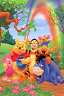 DVD Learning With Winnie The Pooh มี 4 แผ่นค่ะ ราคา 180.- #WN04#