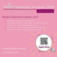BANPU Internship Program 2019!!!