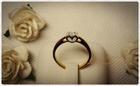 GR0006 แหวนทองฝังเพชร
