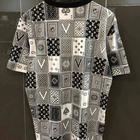 Louis Vuitton Monogram Card Backside T shirt ลายไพ่ สีดำ