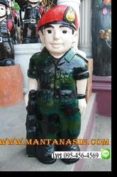 รูปปั้นทหาร