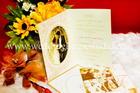 การ์ดแต่งงาน รูปถ่ายสองพับ รหัส PR2-1