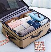 วิธีการจัดกระเป๋าเดินทางแบบมือโปร