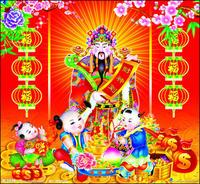 ไหว้เทพเจ้าโชคลาภ ตรุษจีน แก้ปีชง ปี 2560 (โดยหมอช้าง)