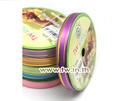 ริบบิ้นพลาสติกขอบทอง 12mm(50y)สีม่วง(65B)