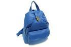 HB-4108-สีน้ำเงิน-ราคาส่ง190ปลีก290บาท-กระเป๋าเป้แฟชั่นหนังPUนิ่มแต่งอะไหล่ล็อคด้านบนสไตล์งานแบรนด์