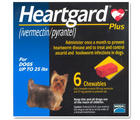 Heartgard Plus ป้องกันโรคพยาธิหัวใจ สําหรับสุนัขน้ำหนักไม่เกิน 25 ปอนด์ (11 กก.)