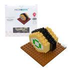 3D Microbrik - Tamako Yaki Sushi ตัวต่อหน้าซูซิ 3D หน้าม้วนไข่หวาน