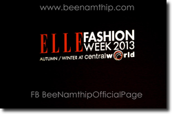 Elle Fashion Week A/W 2013