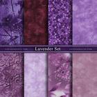 ผ้าคอตตอนนอกจัดเซ็ท Lavender Set (8ชิ้น)