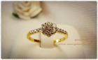 GR0007 แหวนทองฝังเพชร