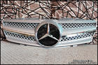 R230 SL-Class Silver Chrome Grille
