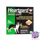 ยาป้องกันพธาธิหนอนหัวใจ Heartgard PLUS ฮาร์ทการ์ด พลัส สำหรับสุนัขหนัก 12-22 กก.