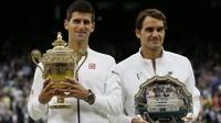 โนวัคโชว์ฟอร์มเหนือราชาเทนนิสโลกก่อนคว้าชัยวิมเบิลดัน # 3