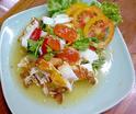 ืNO. SS10 ยำไข่ดาว (Fried Eggs in spicy salad)