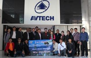 เยี่ยมชมโรงงาน AVTECH ณ ประเทศไต้หวัน