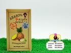 AHA Alpha Arbutin Pineapple Soap ถูกสุด 25 บาท สบู่สับปะรด อัลฟ่าอาบูติน