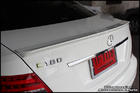 C63 Coupe AMG Rear Spoiler