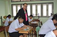 1 เม.ย.2561 สอบคัดเลือกเข้าศึกษาต่อชั้นมัธยมศึกษาปีที่ 4