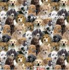 ผ้าคอตตอนอเมริกา Dog by Windham