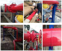 Repair paint firefighting line pipe