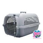 กล่องใส่สุนัข กล่องใส่แมว สีเทา ลายคลาสสิค size XL  ขนาด กว้าง 18.7 นิ้ว ยาว26.9 นิ้ว สูง 17 นิ้ว