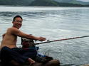SPS on the raft in Karnchanaburi trip