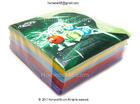 ซองใส่แผ่นCD ใยไหม มาตรฐาน (คละ 5 สีใน 1 แพค) (100/Pack) (ดูราคาส่งด้านใน)