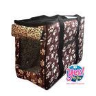 กระเป๋าใส่สัตว์เลี้ยง สุนัข หมา แมว รุ่นสะพายข้าง Size M กว้าง 7 นิ้ว ยาว 17 นิ้ว สูง 10.5 นิ้ว