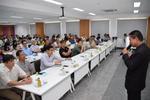 การประชุมชี้แจงผู้ประกอบการอุตสาหกรรม                             เรื่องการแก้ไขปัญหา กลุ่มเสี่ยงด้านฝุ่นละออง