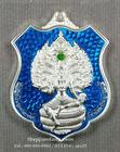 เหรียญ เจ้าปู่ศรีสุทโธ(2) ป่าคำชะโนด บ้านดุง อุดรธานี (พิมพ์ อาร์ม) เนื้อเงิน ลงยาน้ำเงิน ปี 2560